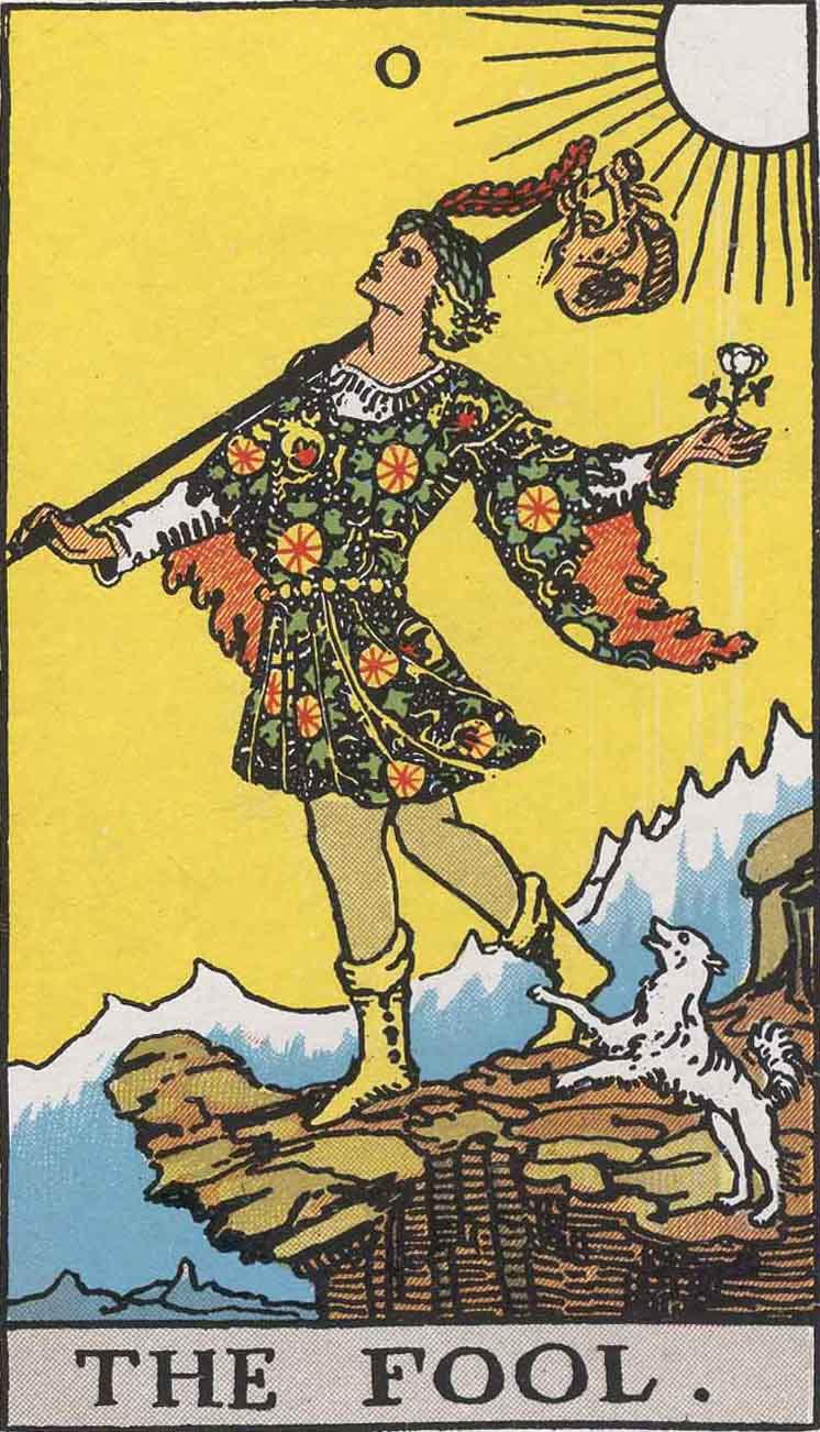 Fool Card From The Tarot Deck